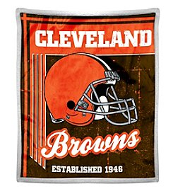 Northwest Company NFL® Cleveland Browns Mink Sherpa Throw