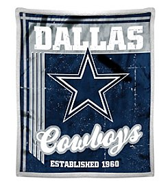 Northwest Company NFL® Dallas Cowboys Mink Sherpa Throw