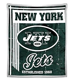 Northwest Company NFL® New York Jets Mink Sherpa Throw