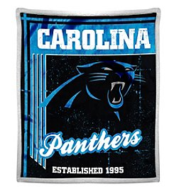 Northwest Company NFL® Carolina Panthers Mink Sherpa Throw