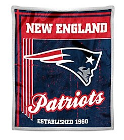 Northwest Company NFL® New England Patriots Mink Sherpa Throw
