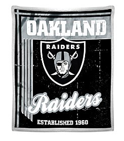 Northwest Company NFL® Oakland Raiders Mink Sherpa Throw