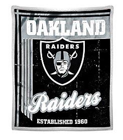 Northwest Company NFL® Oakland Raiders Mink Sherpa Throw