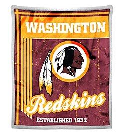 Northwest Company NFL® Washington Redskins Mink Sherpa Throw