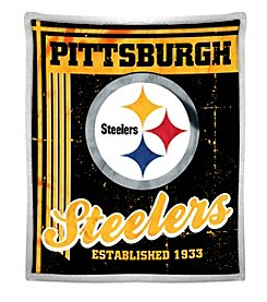 Northwest Company NFL® Pittsburgh Steelers Mink Sherpa Throw