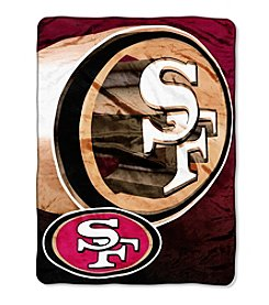 Northwest Company NFL® San Francisco 49ers Bevel Micro Raschel Throw