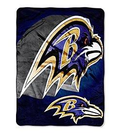 Northwest Company NFL® Baltimore Ravens Bevel Micro Raschel Throw