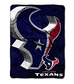 Northwest Copmany NFL® Houston Texans Bevel Micro Raschel Throw