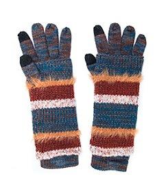MUK LUKS Stripe 3-in-1 Glove