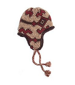 MUK LUKS Pattern Trapper Hat