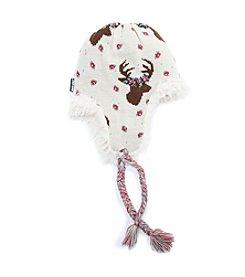 MUK LUKS Deer Tassel Trapper Hat