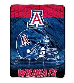 Northwest Company NCAA® Arizona Wildcats Overtime Micro Fleece Throw