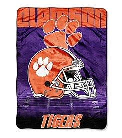 Northwest Company NCAA® Clemson Tigers Overtime Micro Fleece Throw