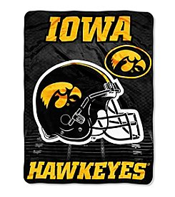 Northwest Company NCAA® Iowa Hawkeyes Overtime Micro Fleece Throw