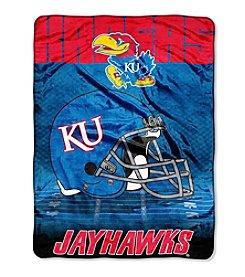 Northwest Company NCAA® Kansas Jayhawks Overtime Micro Fleece Throws