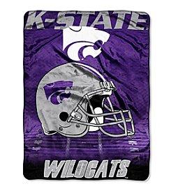 Northwest Company NCAA® Kansas State Wildcats Overtime Micro Fleece Throw