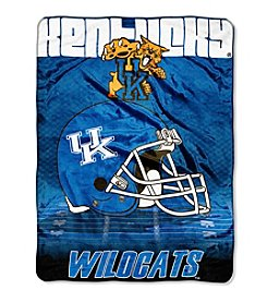 Northwest Company NCAA® Kentucky Wildcats Overtime Micro Fleece Throw