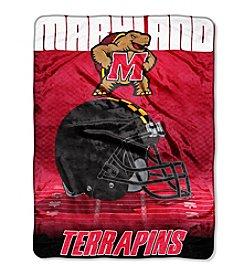 Northwest Company NCAA® Maryland Terrapins Overtime Micro Fleece Throw