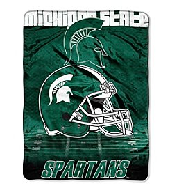 Northwest Company NCAA® Michigan State Spartans Overtime Micro Fleece Throw