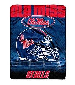 Northwest Company NCAA® Ole Miss Rebels Overtime Micro Fleece Throw