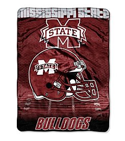 Northwest Company NCAA® Mississippi State Bulldogs Overtime Micro Fleece Throw