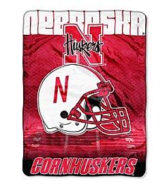 Northwest Company NCAA® Nebraska Cornhuskers Overtime Micro Fleece Throw