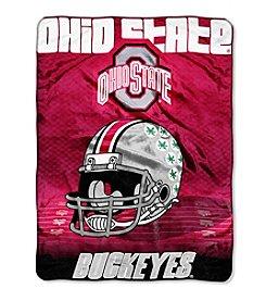 Northwest Company NCAA® Ohio State Buckeyes Overtime Micro Fleece Throw