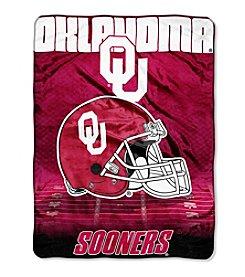 Northwest Company NCAA® Oklahoma Sooners Overtime Micro Fleece Throw