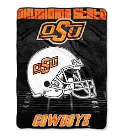 Northwest Company NCAA® Oklahoma State Cowboys Overtime Micro Fleece Throw