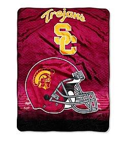 Northwest Company NCAA® USC Trojans Overtime Micro Fleece Throw