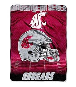 Northwest Company NCAA® Washington State Cougars Overtime Micro Fleece Throw