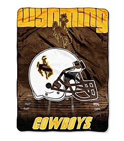 Northwest Company NCAA® Wyoming Cowboys Overtime Micro Fleece Throw