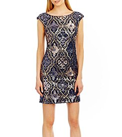 Nicole Miller New York® Sequin Cocktail Dress