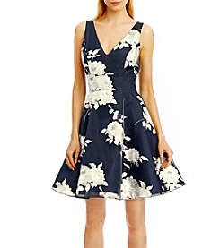 Nicole Miller New York™ Cocktail Floral Printed Dress