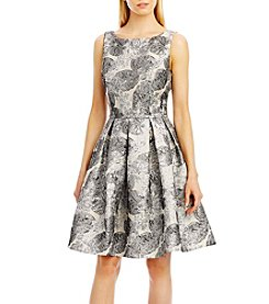 Nicole Miller New York® Floral Jacquard Dress