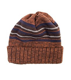 MUK LUKS Men's Ribbed Cuff Cap