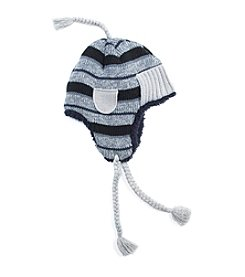 MUK LUKS Men's Striped Trapper Hat