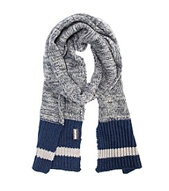MUK LUKS Men's Marl Sock Scarf