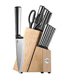 Ginsu® Koden Series 14-pc. Cutlery Set with Block