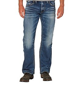 Silver Jeans Co. Men's Zac Relaxed Fit Sraight Jeans