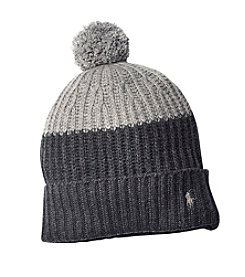 Polo Ralph Lauren® Colorblocked Cuffed Pom Hat