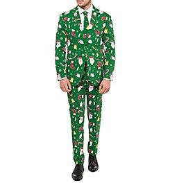 OppoSuits Men's Santaboss Suit