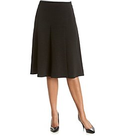 Relativity® Plus Size A-Line Skirt