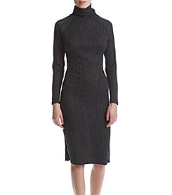Kensie® Ribbed Sweater Dress