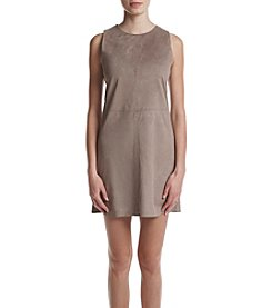 Kensie® Stretch Faux Suede Dress