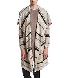 Kensie® Striped Cardigan