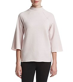 Kensie® Faded Fleece Top