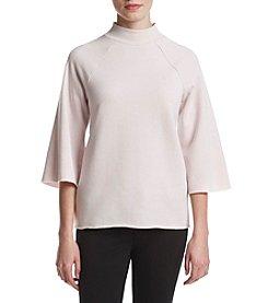 Kensie® Faded Fleece Top