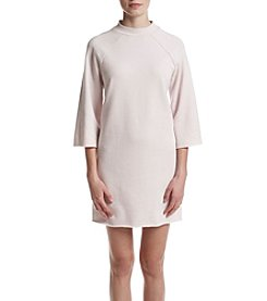 Kensie® Faded Fleece Dress