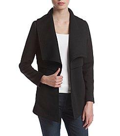 Kensie® Quilted Jersey Jacket